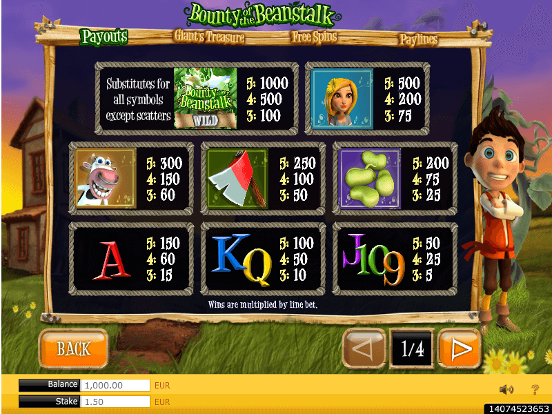Bandit's Bounty slot game