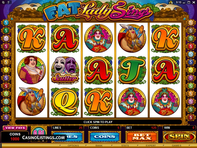 Fat Lady Sings slot game