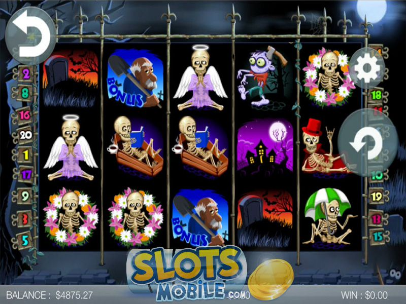 Grave Grabbers slot game