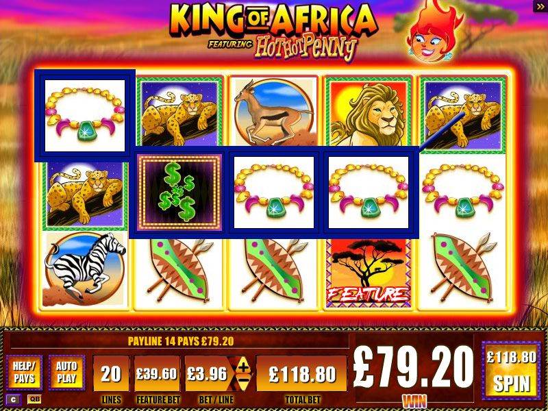 Hot Africa slot game