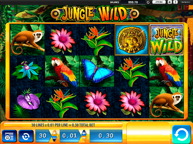 Jungle Wild slot game