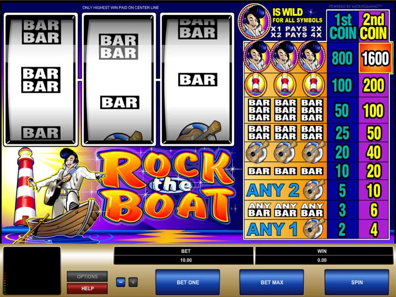 Rock the Boat slot game